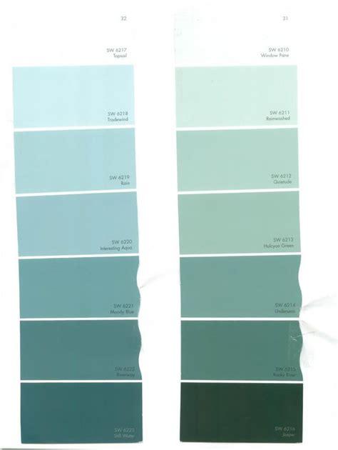 sherwin williams paint color cards top 25 ideas about aqua color schemes aqua color house color palettes and colour