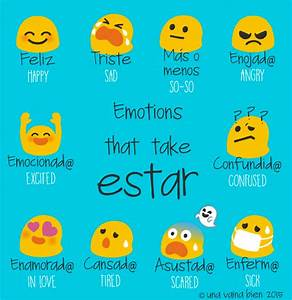 List Of Feelings In Spanish  U2013 Spanish To English Language