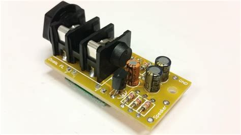 3-watt Micro Guitar Amp Kit From Nfceramics On Tindie
