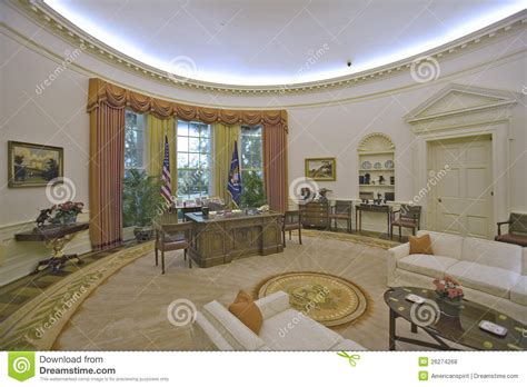 le de bureau blanche reproduction du bureau d 39 ovale de la maison blanche photo