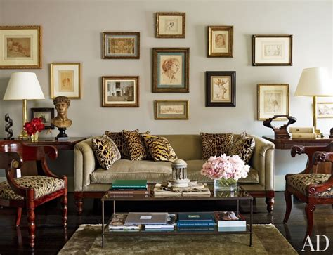 Traditional Living Room : Nina Griscom And Leonel Piraino's Traditional Living Room