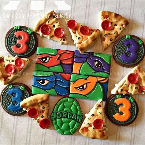 ideas  ninja turtle cookies  pinterest