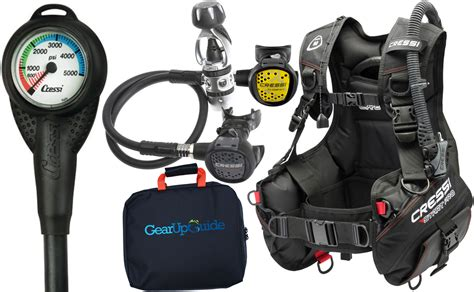 Scuba Dive Gear - cressi start pro 2 0 scuba diving gear package assembled