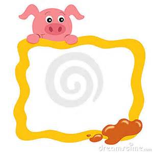 a frame plans frame with pig stock photos image 23499923