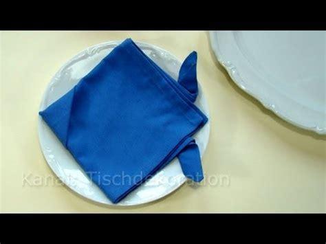 servietten falten fisch servietten falten ostern fisch als tischdeko