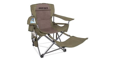 cing chair with footrest australia slumber chair with footrest 34001 rhino rack