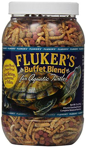fluker s buffet blend aquatic turtle diet 7 5oz pet