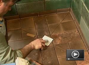how to lay tile in a bathroom tips With how to lay tiles in the bathroom