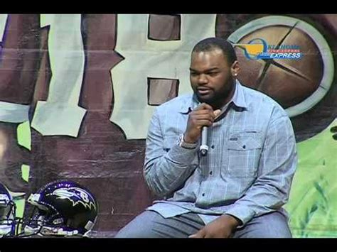 big mike blind michael oher the blind side oklahoma fca banquet