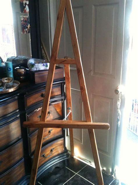wooden easel ideas  pinterest easels diy easel  table easel