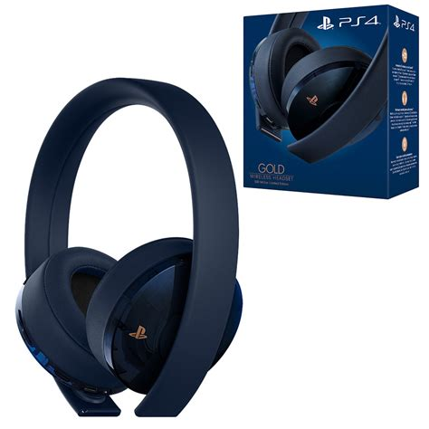 playstation  gold wireless  million limited edition