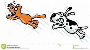A Cat Chasing Dog Clipart - Clipart Suggest