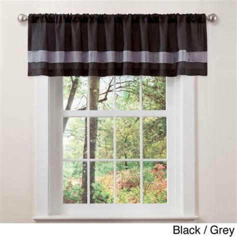 Gray Valance by Black Gray Valance Ebay