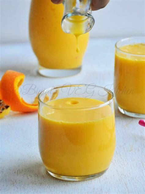 pineapple mango orange smoothie binjals veg kitchen