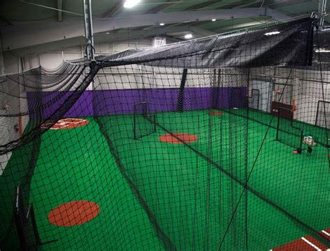 Deck Batting Cages Baton by Indoor Batting Cages For Baseball Softball On Deck Sports