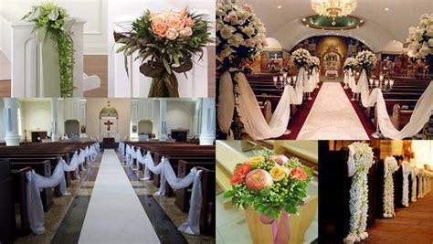 Wedding Pew Decoration Ideas Elitflat