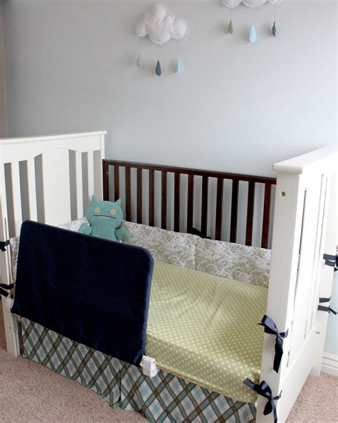 diy crib rail cover creatively improvising diy bed rail cover