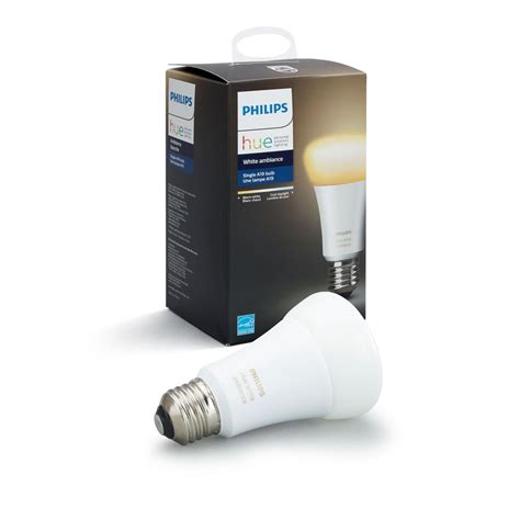 philips hue white ambiance a19 60w equivalent dimmable led
