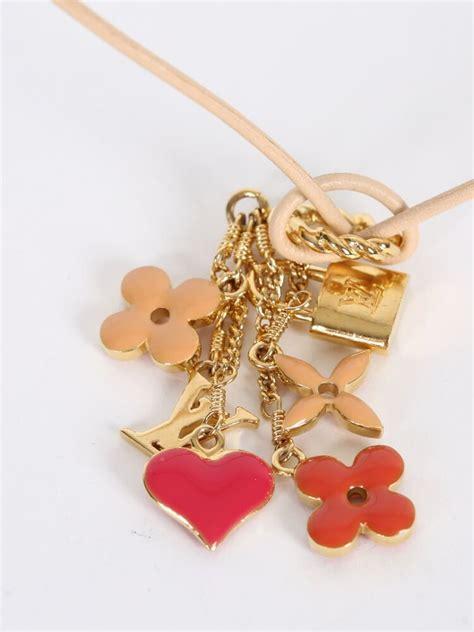 louis vuitton sweet monogram pendant necklace luxury bags
