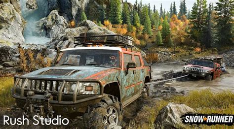 Carry heavy hauls and extreme payloads by overcoming mud, torrential waters, snow, and frozen lakes for huge rewards. Snowrunner PC Free Download