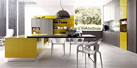 cuisine grise et jaune la cuisine en voit de toutes les couleurs inspiration