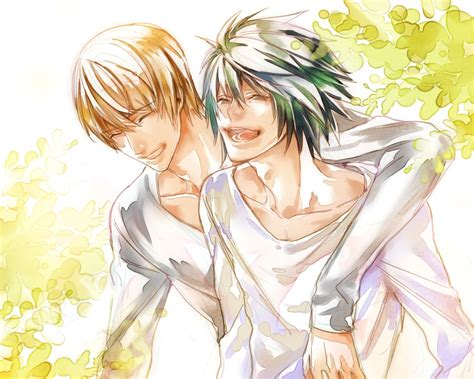 L Light by If They Were Friends L Lawliet And Yagami Light