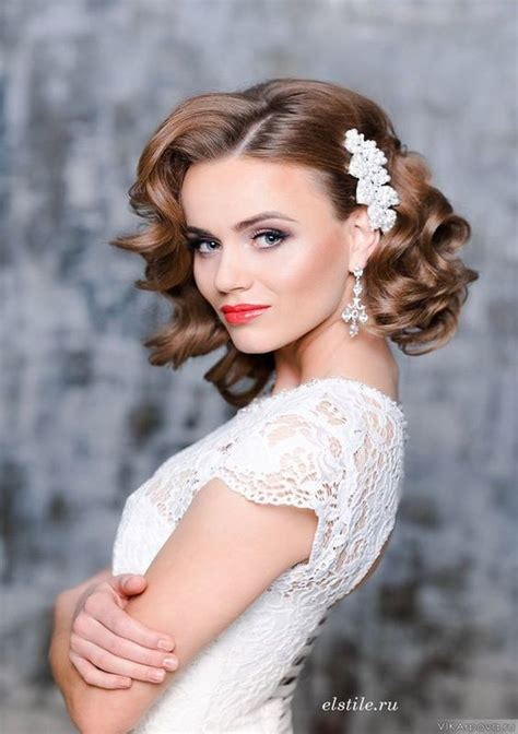 most beautiful wedding hairstyle ideas for short hair easyday