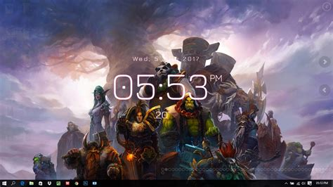 World Of Warcraft Animated Wallpaper - 50 world of warcraft wallpaper engine free