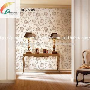 papier peint moderne chambre nontiss mtallique moderne With chambre bébé design avec fleur de vie acheter
