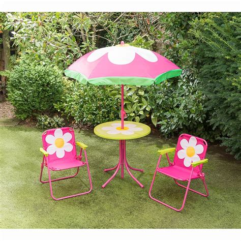 children s patio furniture childrens patio set flower garden furniture b amp m 11113 | 331166 childrens flower patio set