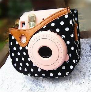 Colorful Dots Spot Camera PU Leather Case Bag For Fujifilm ...