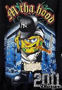 Spongebob Gangster Picture #126687326 | Blingee.com