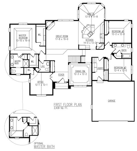 Brighton Homes Blakemore Floor Plan by Affordable Home Builder In Wisconsin And Milwaukee Allan