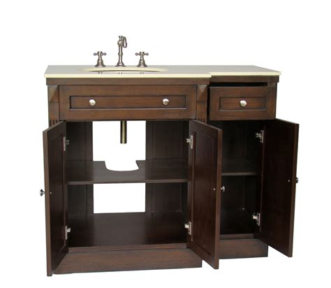 Adelina 42 Inch Traditional Bathroom Vanity, Fully