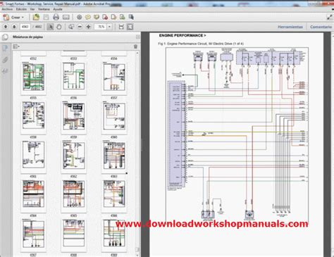 Smart Wiring Diagram by Smart Car Fortwo Workshop Service Repair Manual