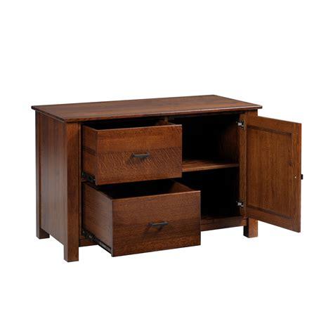 Y & T Mission 48″ Credenza  Stewart Roth Furniture