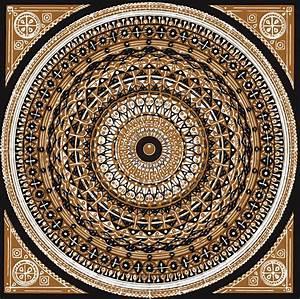 Psychedelic, Islamic, Mandala
