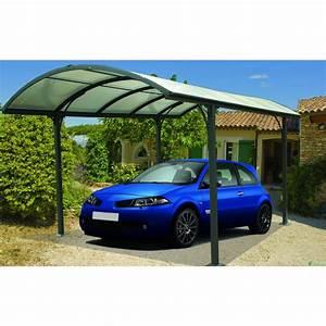Carport 3 X 4 : auvent aluminium pour 1 voiture 3 x 4 8 m car3048alrp habrita bricozor ~ Whattoseeinmadrid.com Haus und Dekorationen