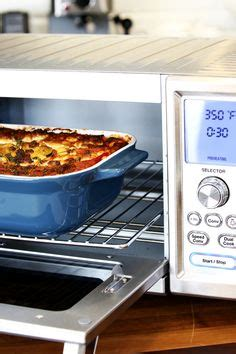 Toaster Oven Lasagna - how to cook lasagna in a convection oven pasta