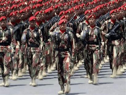 Indonesia Military China Sea South Base Army