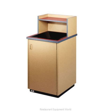 restaurant trash can cabinet plymold 80109se trash container cabinet