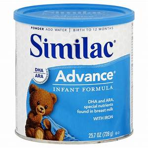 Similac Advance® Infant Formula with Iron Birth to 12 ...
