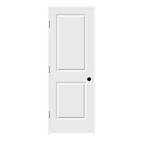 interior doors home depot jeld wen 28 in x 80 in c2020 primed 2 panel solid