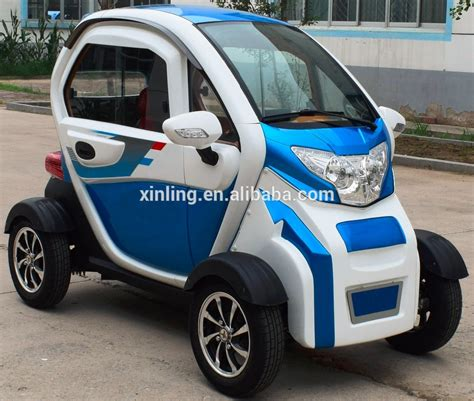 60v 1.0kw 2 Seat Small Cars Cheap Electric Cars Four Wheel