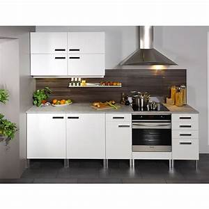 Meuble Bas 2 Portes : meuble bas 2 portes glossy blanc ~ Dallasstarsshop.com Idées de Décoration
