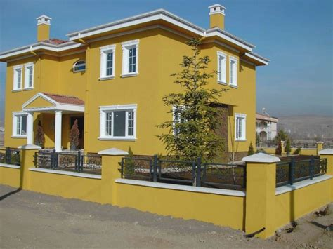 nice orange home paint colors exterior    decor