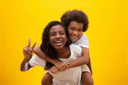 Sibling African Custody Kinderen Smiling Fratelli Guardianship
