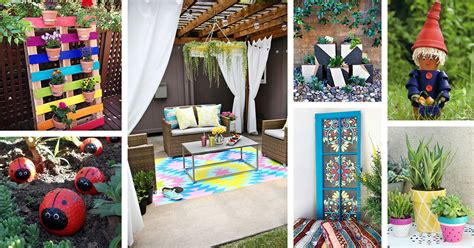 Garden Decoration Home by 29 Best Diy Painted Garden Decoration Ideas And Designs