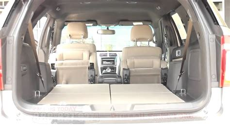 ford explorer rear captains chairs the ford explorer automatic folding seats