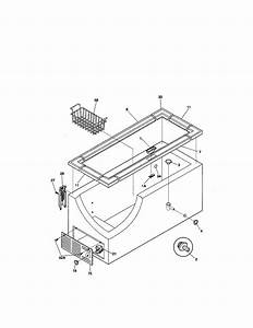 Kenmore 25310311001 Chest Freezer Parts